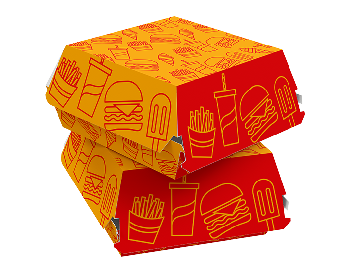 burger box packaging