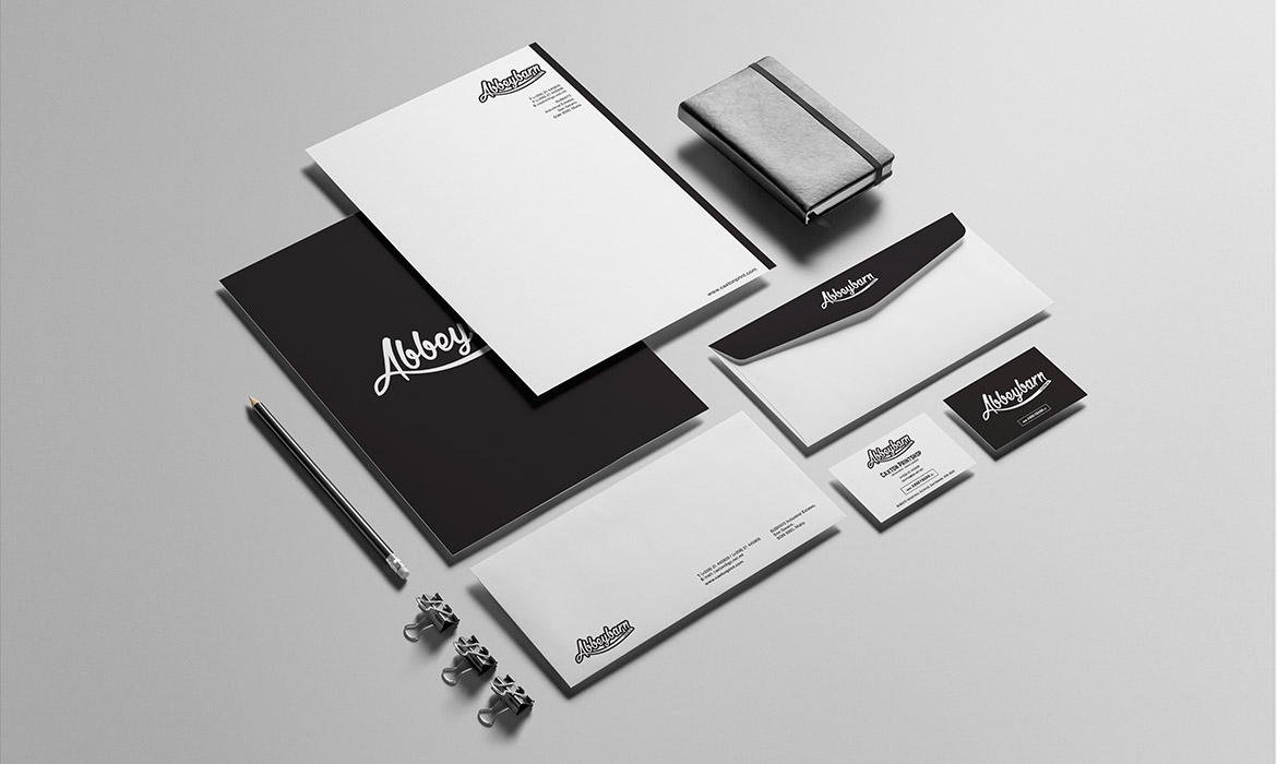 printed stationery for corporate business